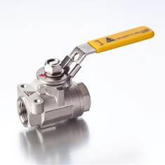 BSP 3 Way L Port Ball Valve