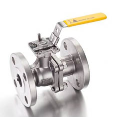 Flanged 2 Piece Full Bore Ball Valve